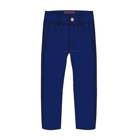 0L155 Pantalone con risvolto