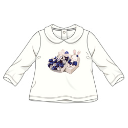 Minibanda 3R733 T-shirt neonata