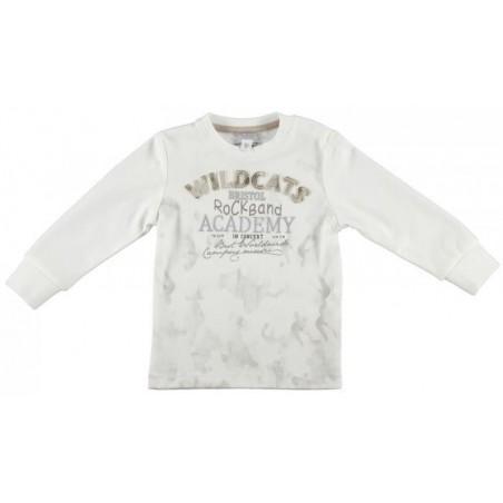Sarabanda 0L133 T-shirt con ricamo bambino