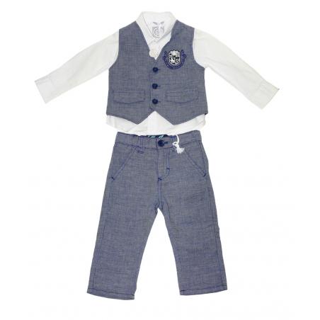 Sarabanda Completo elegante neonato Tg. 12 mesi
