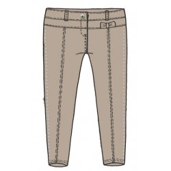 0L235 Pantalone caldo elegante