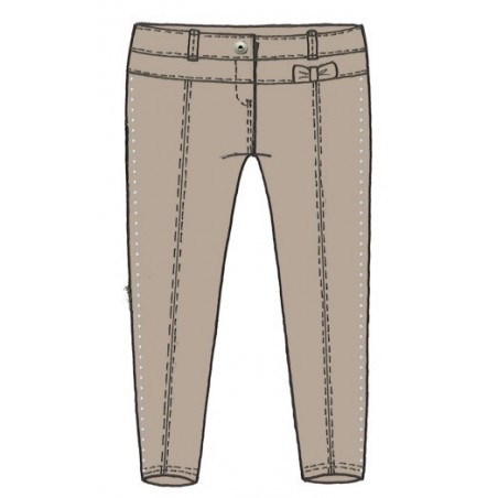 Sarabanda 0L235 Pantalone caldo elegante bambina