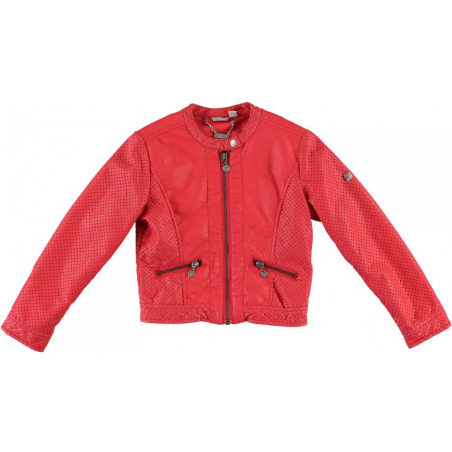 Sarabanda 0Q481 Coat ecoleast coral girl