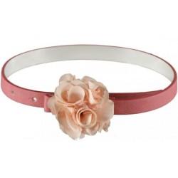 0H040 Belt with flower