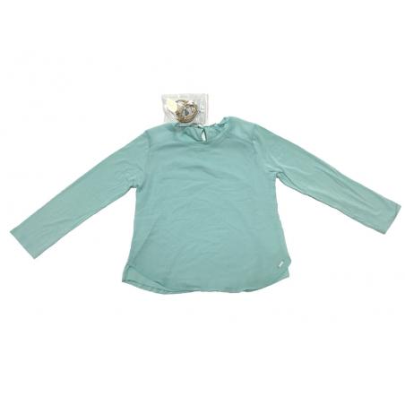 Sarabanda 0Q417 Girl Green T-shirt