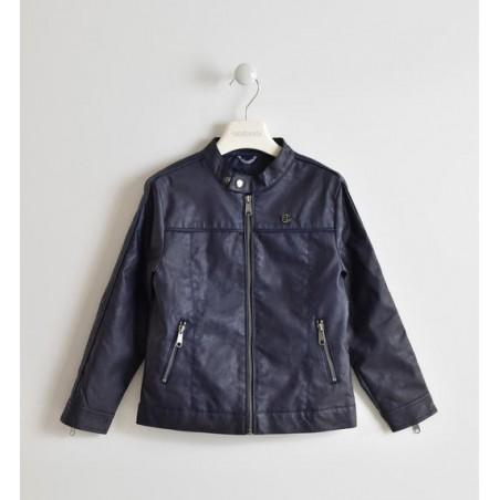 Sarabanda 0W345 Coat faux leather boy