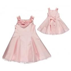 Sarabanda 0I907 Elegant pink dress