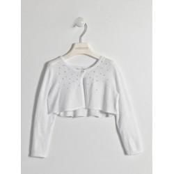 Sarabanda 0W236 Girl White Shoulder Cover