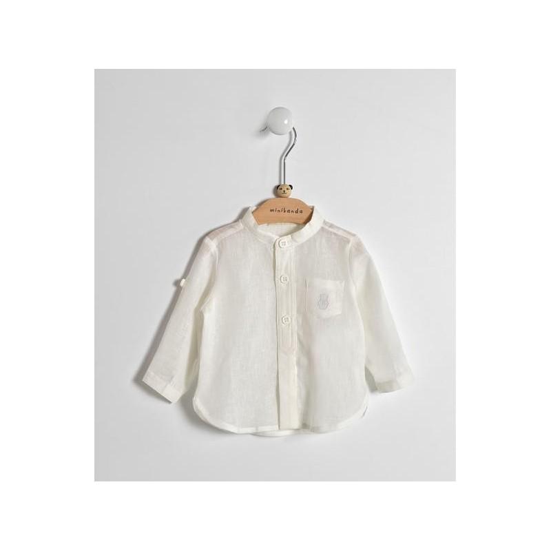 Minibanda 3W615 Newborn Cream Shirt