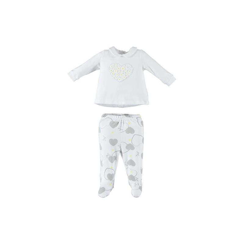 Minibanda 3W703 Tutina spezzata neonata