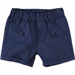 Minibanda 3W652 Pantaloncino blu neonato