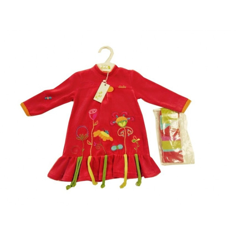 Ginkana Vanesa dress with tights