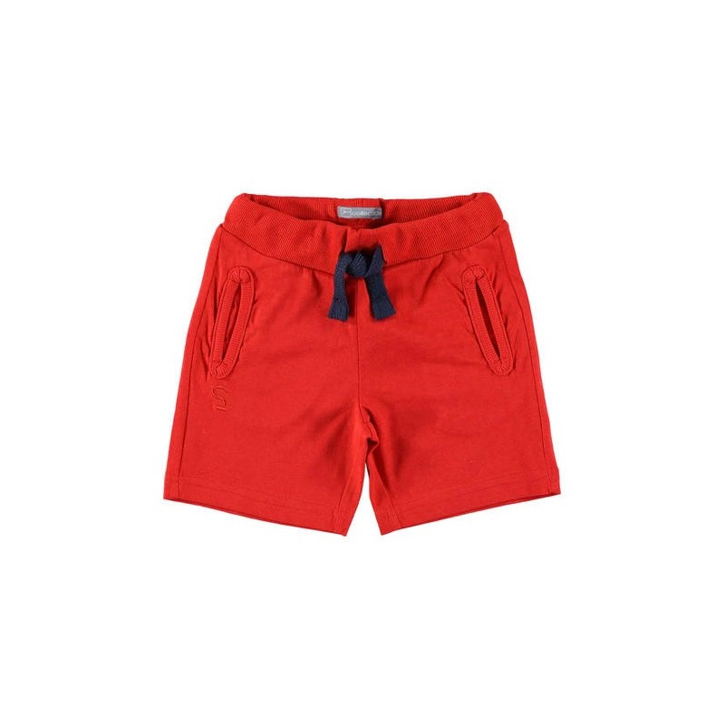 Sarabanda DW840 Bermuda rosso bambino