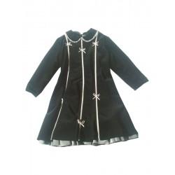 Aletta A3717L Classic velvet dress