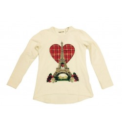 Laik mi K4397 T-shirt love paris