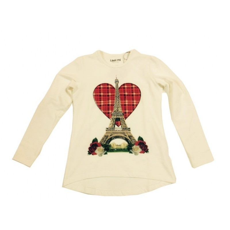 Laik Mi K4397 Love Paris T-shirt