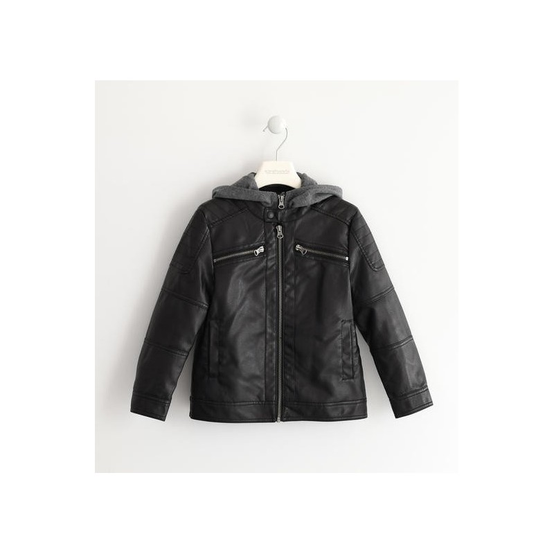 Sarabanda 0K361 Boy Faux Leather Jacket