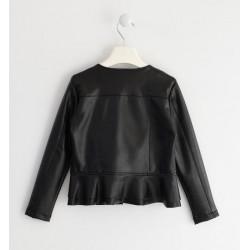 Sarabanda 0K429 Girl Faux Leather Jacket