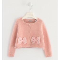 Sarabanda 0K251 Pink Girl Cardigan