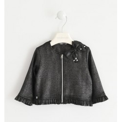 Sarabanda 0K204 Eco leather girl jacket