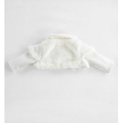Minibanda 3K740 Heart warmer in newborn eco fur
