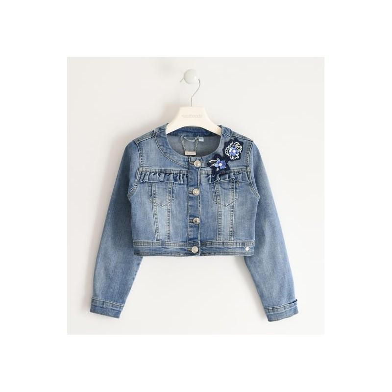 Sarabanda 0J432 Giubbetto jeans ragazza