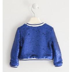 Sarabanda 0J204 Girl Sequin Sweatshirt