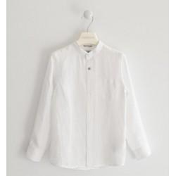 Sarabanda 0J302 Camicia lino ragazzo