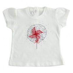 Minibanda 3J770 T-shirt neonata