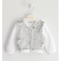 Sarabanda DJ040 Girl Sequin Sweatshirt