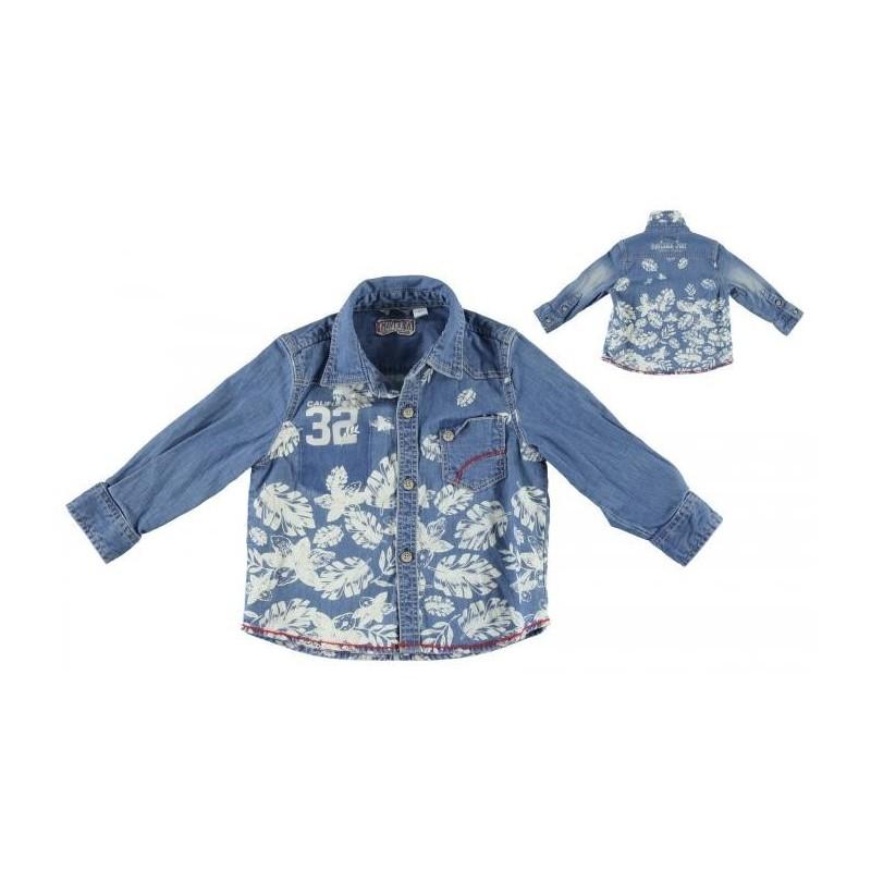 Sarabanda 0M115 Camicia jeans bambino