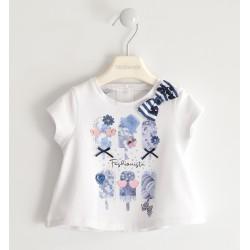 Sarabanda 0J219 T-shirt bambina