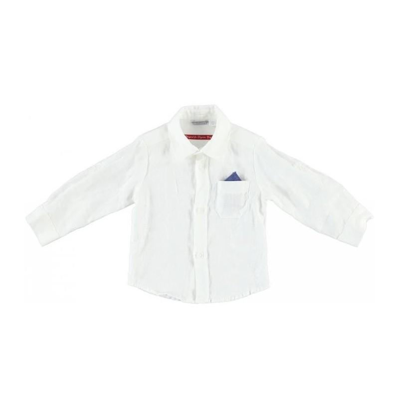 Sarabanda 0M116 Camicia lino bambino