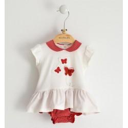 Minibanda 3J715 Pagliaccetto neonata