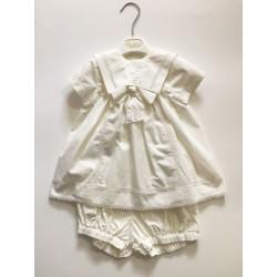 Aletta T3181 Abito battesimo neonata