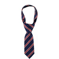 Sarabanda 0M008 Cravatta regimental rossa bambino
