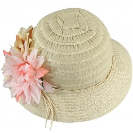 Sarabanda 0M030 Cappello paglia bambina