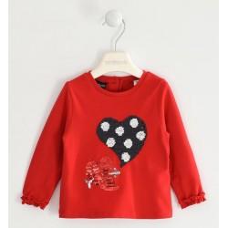 Sarabanda D1851 T-shirt bambina