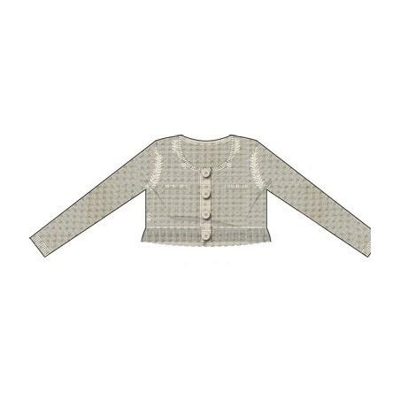 Sarabanda 0M402 Beige jacket girl