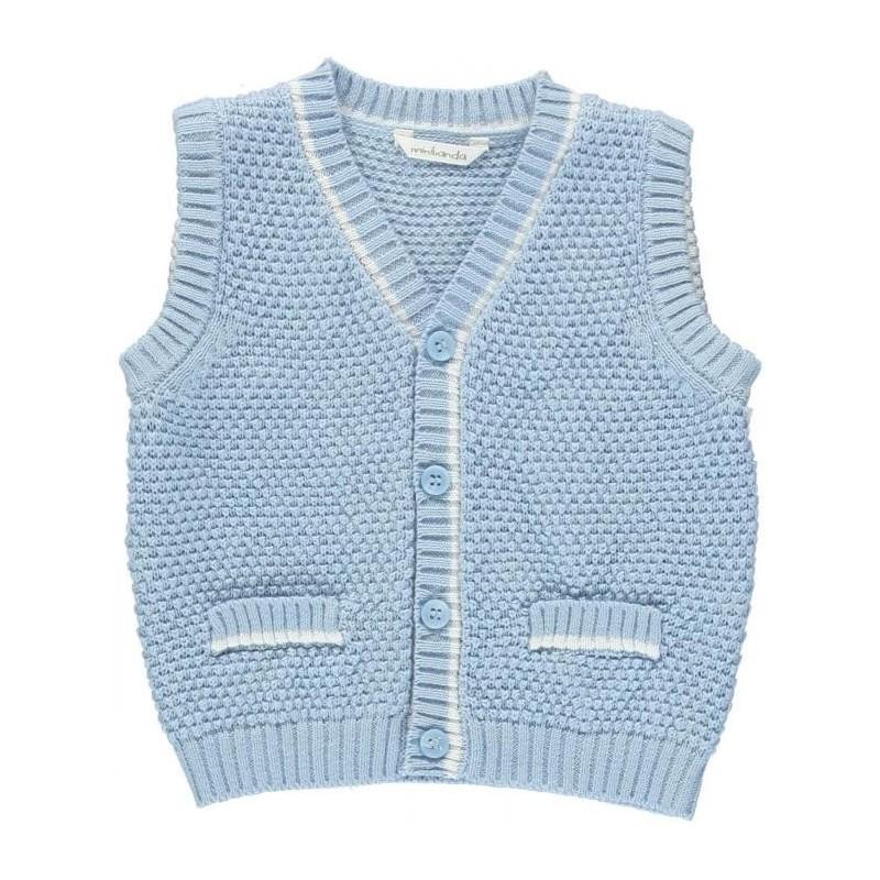 Minibanda 3M607 Newborn Cotton Vest