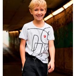 Sarabanda 02390 T-shirt ragazzo Ducati
