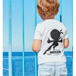 Sarabanda D2117 T-shirt bambino Ninja