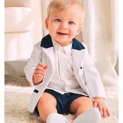 Completo Neonato battesimo tg. 12 mesi