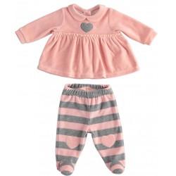 Minibanda 33702 Baby two-piece jumpsuit