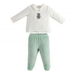 Minibanda 33602 Baby two-piece jumpsuit
