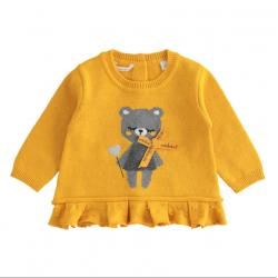 Minibanda 33711 Maglia tricot neonata