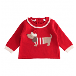 Minibanda 33709 Maglia tricot neonata