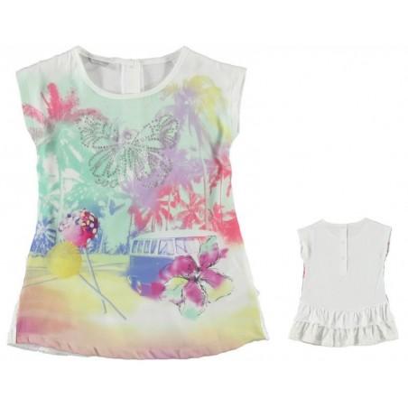 Sarabanda 0M588 Sleeveless Girl Dress