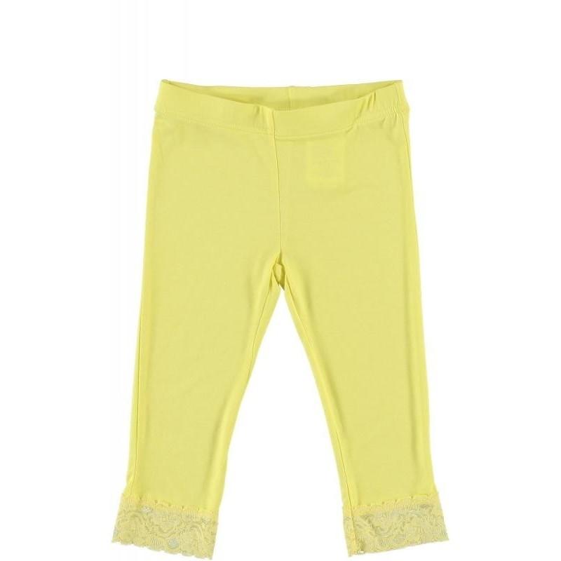 Sarabanda 0M678 Pinocchietto giallo ragazza