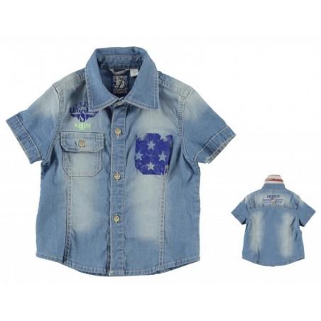 Sarabanda 0M505 Camicia jeans bambino